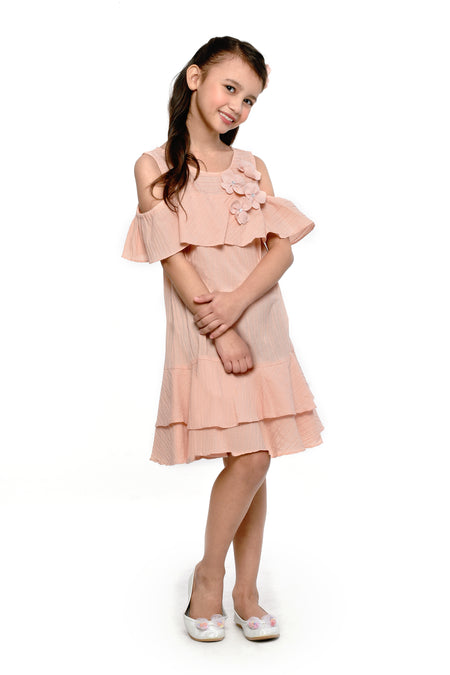 Bow Sleeve Dress (GDS 455)