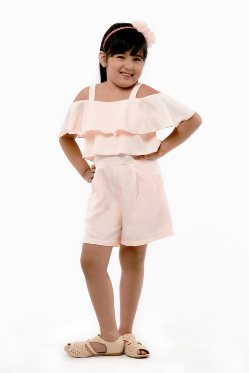 Ruffled Romper Shorts (GJP 038)