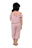 Halter Jumpsuit (GJP 044) - Dusty Pink