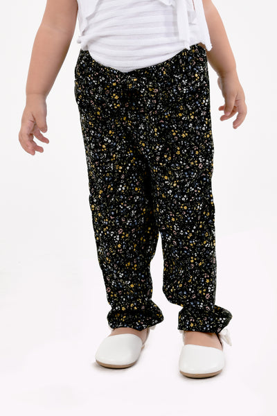 Tapered Printed Pants (GPL 037)
