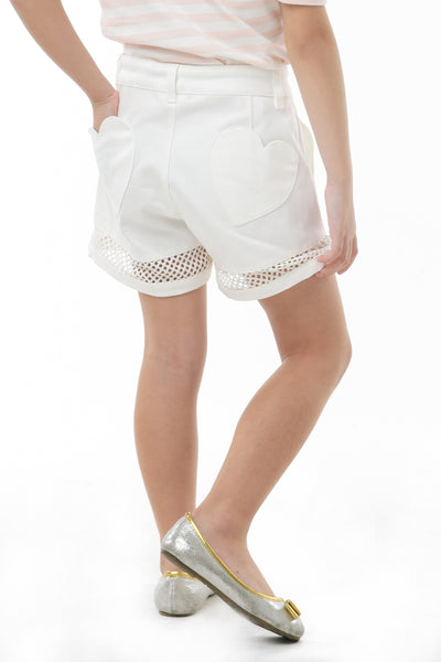 Shorts With Heart Back Pocket (GPS 058)