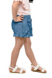 Denim Ruffled Shorts (GPS 061)