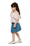Offshoulder Top and Skirt (GSET 062)
