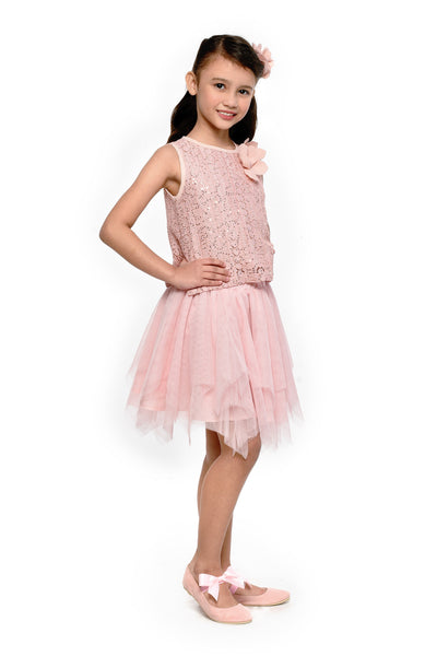 Sequined Top & Tutu Skirt (GSET 070)