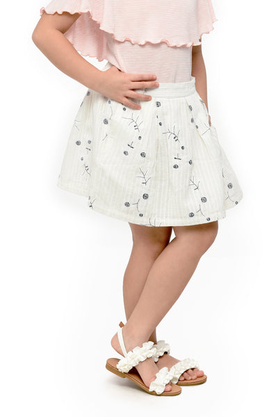 Embroidered Skirt (GSK 087)