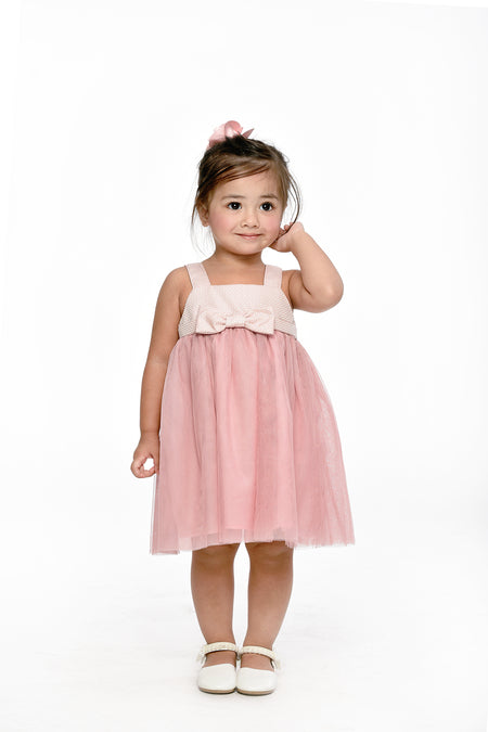 Baptismal Lace Dress - White (IGDS 108)