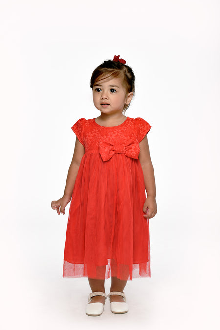 Asymmetric Ruffle Dress (IGDS 131)