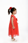 Ribbon Dress - Red (IGDS 148)