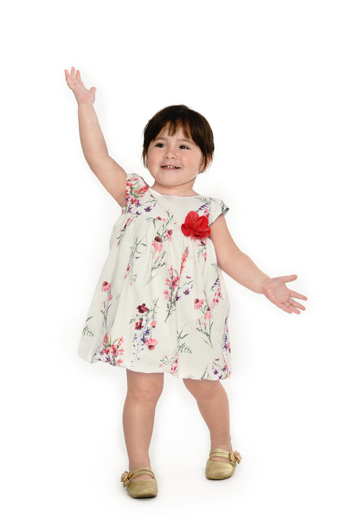 Floral Bubble Dress (IGDS-159)