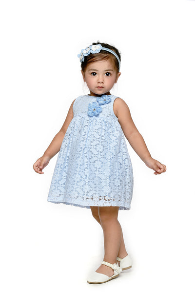 Lace Dress & Bloomer Set (IGST 027)