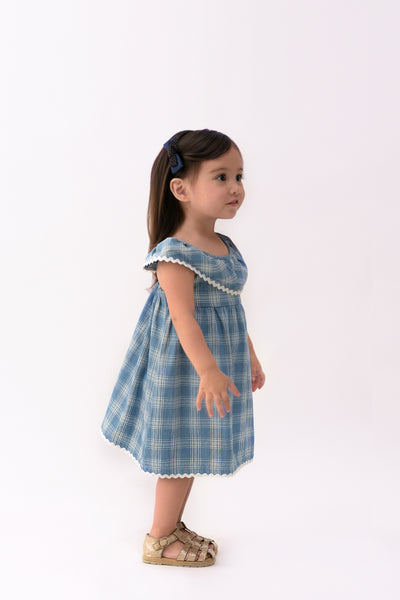 Ruffled Dress with Back Accent (IGDS 073)