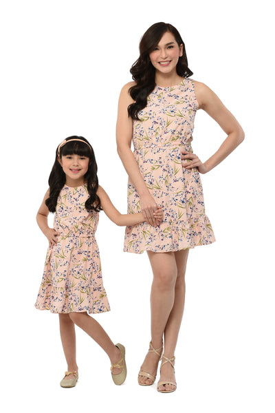 Floral Sleeveless Dress (MDS 064)