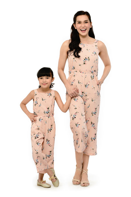 Floral Haltered Jumpsuit with Ruffle (MJP 037)