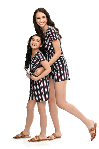 Striped Romper (MJP 057)