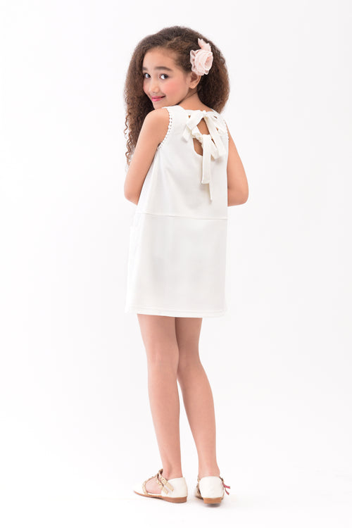 Shift Dress with Accent Pockets (GDS 336)