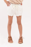 Scalloped Hem Shorts (GPS-053)