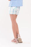 Plaid Canvas Shorts (GPS 056)