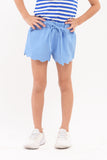 Scalloped Hem Shorts (GPS 053)