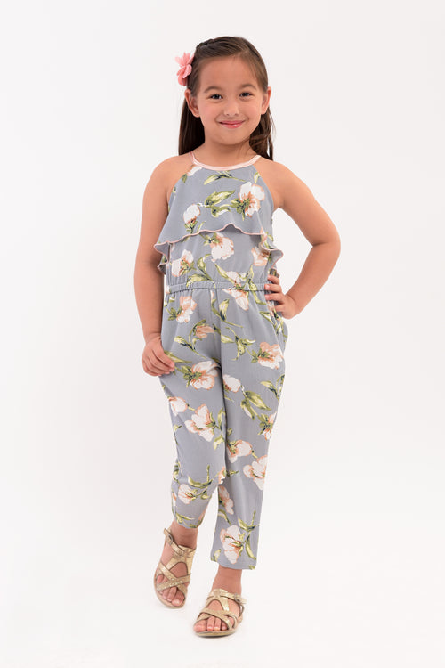 Ruffled Halter Cut Jumpsuit (GJP 020)