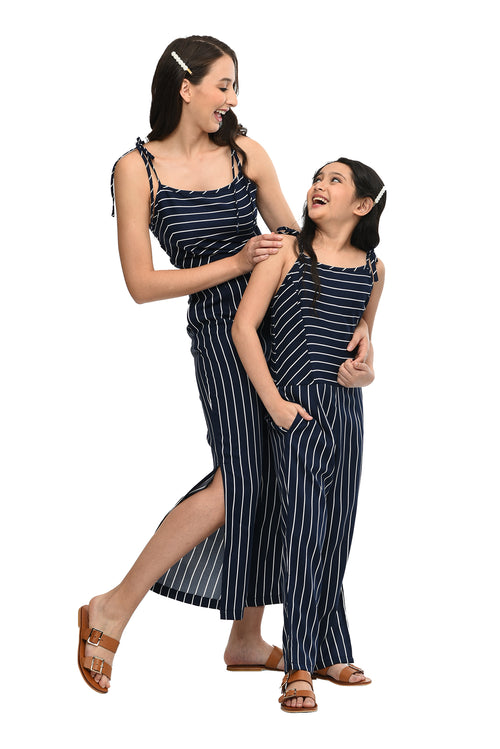 Strappy Striped Jumpsuit (MJP 016)