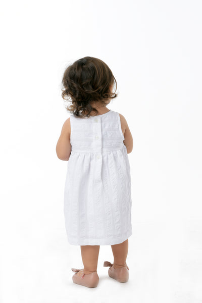 Empire Cut Dress - White (IGDS 099)