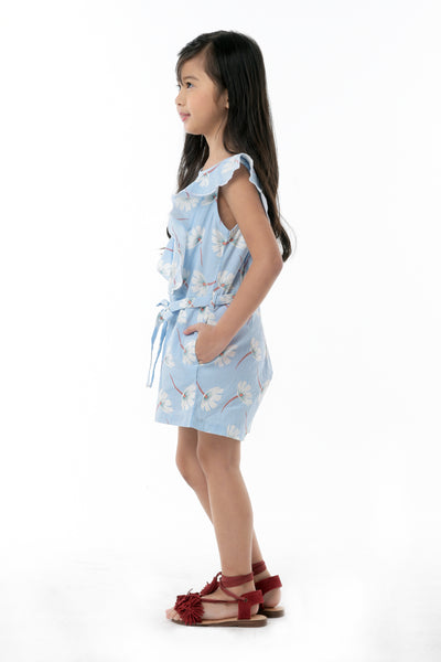 Ruffled Romper Shorts (GJP 029)