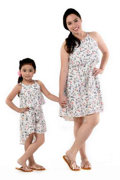 Floral Strappy Dress (MDS 055)