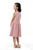 Cut Out Shoulder Fit & Flare Knit Dress - Old Rose (GDS 349)