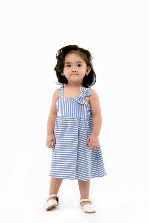 Striped Weaved Dress (IGDS 112)