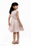 Embroidered Rose Dress - Pink (GDS 386)