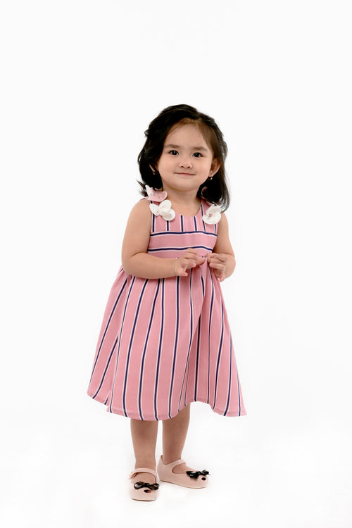 Striped Sleeveless Dress (IGDS 111)