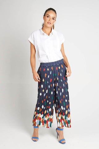 Pleated Culottes - Debbie Lee Fashions