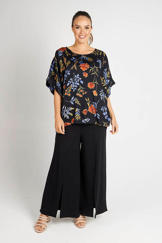 Black Culotte - Debbie Lee Fashions