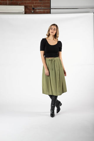 Vera Tie Skirt - Debbie Lee Fashions