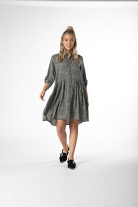 Jocey Shirt Dress - Debbie Lee Fashions