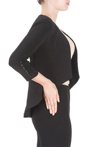 Gretta Crop Jacket - Debbie Lee Fashions