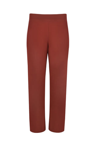 Wide Leg Power Pant Rust