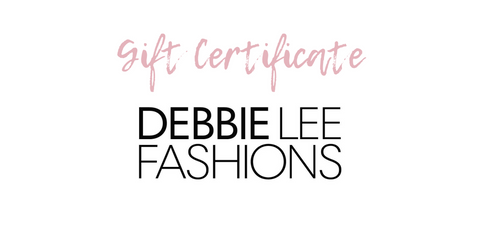 Gift Cards - Debbie Lee Fashions