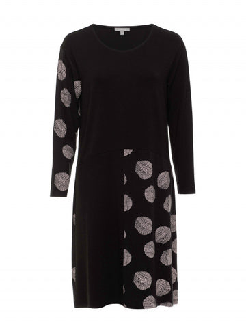 Meteor Print Dress - Debbie Lee Fashions