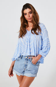 Indra Blouse - Debbie Lee Fashions
