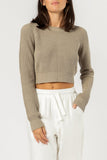 Brooklyn Crop Knit