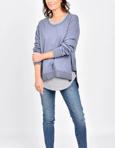 Ulverstone Sweater - Bluestone