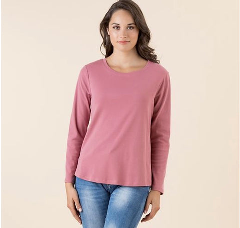 Long Sleeve Tee Rose