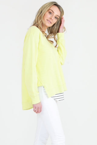 Ulverstone Sweater Neon Lemon