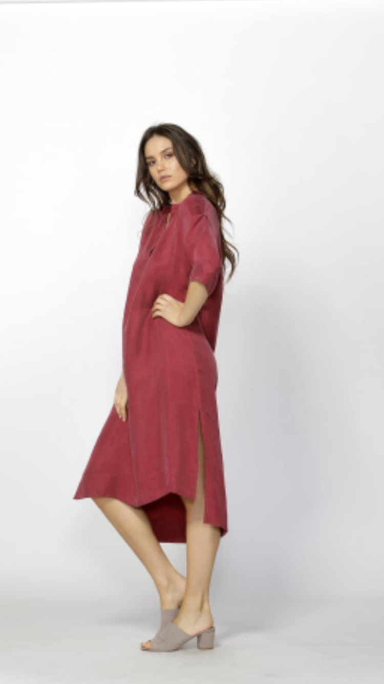 Aurelie Shirt Dress - Debbie Lee Fashions