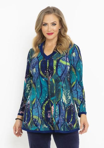 Blue Forest Top