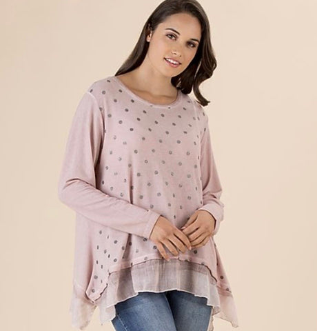 Threadz Spot Knit - Debbie Lee Fashions
