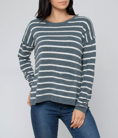 Stripe Knit - Debbie Lee Fashions