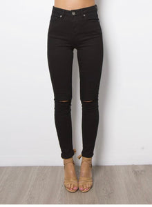 Megan High Waist Skinny Jean - Debbie Lee Fashions