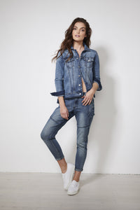 Denim Jacket - Debbie Lee Fashions